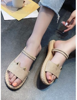 Beach Style Outdoor Sandals - Khaki Eu 38