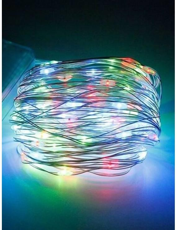 5 Meters 5V Waterproof Decorative LED Strip Light - Transparent Rgb